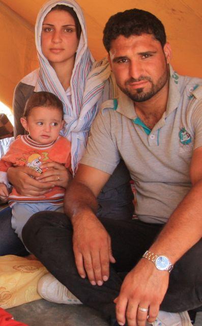 Der syrische Flüchtling Rangin